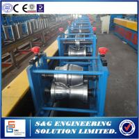 Quality Automatic Rolling Shutter Strip Forming Machine 20 - 350mm Feeding Width for sale