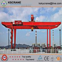 Wholesale Manufacturer Direct Sale Double Girder Rubber Tyre Gantry Crane/Tyre Mounted Crane from china suppliers