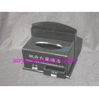 Wholesale Factory custom black acrylic tissue box with drawer for hotel from china suppliers