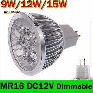 Wholesale 1x Dimmalbe GU5.3 MR16 9W 12W 15W LED Light GU 5.3 LED bulb lamp 12V LED COB Spot down led light spotlight from china suppliers