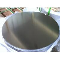 Wholesale 0.5 mm to 5 mm Mill Finished non stick  Aluminium Disc of 1050  1100  3003 O - H112 Temper from china suppliers