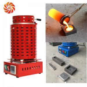Buy cheap JC-K-110-1 Aluminum gold melting pot  furnace working temp 1120C from wholesalers