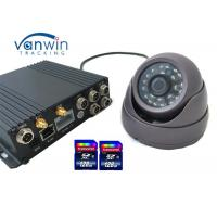 Wholesale SD Card Mobile DVR HD CCTV for Vehicle Camera Car Tracking 4CH DVR Onboard from china suppliers
