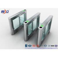 Wholesale Biometric Swing Barrier Gate Stainless Steel Acrylic Flap Barrier Gate from china suppliers