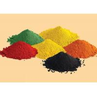 Wholesale Iron Oxide Colouring Cement Pigment Building Materials In Black / Red / Orange from china suppliers