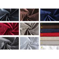 Wholesale OKTEX 100 approved thick sofa upholstery fabric,wholesale fabric,100 polyester suede fabric from china suppliers
