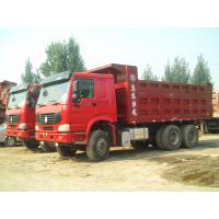 Wholesale Heavy Duty Dump Truck , Sand Tipper Truck Middle Lifting Type 6x4 Dump Truck from china suppliers