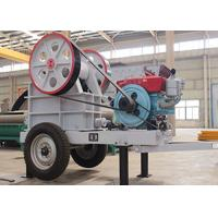 Quality Mobile Jaw Crusher With Diesel Engine 210mm Max. Feeding ER250×1200 for sale