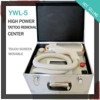 Wholesale Portable Skin Whitening Nd Yag Laser Machine 1064nm / 532nm For Tattoo , Acne Removal from china suppliers