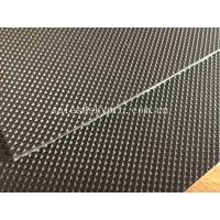 Quality 1.6mm Black Diamond Textured Light PVC Conveyor Belting Strong Load Capacity for sale