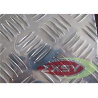 Wholesale Custom Size Clean Embossing Alumiinum Sheet , Diamond Plate Sheets from china suppliers