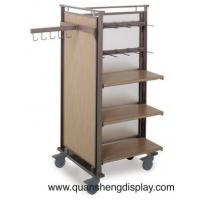 Wholesale Metal Rack with the wheels and hooks for the clothing from china suppliers