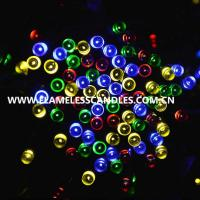 Wholesale 1.5m Solar Powered LED Battery Operated Outdoor String Lights for Birthday / Party / Event from china suppliers
