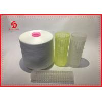 Wholesale 20/2 20/3 Spun Polyester Raw White Thread For Weaving Sweater Wear Comfortable from china suppliers
