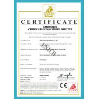 JINAN UNICH MACHINERY CO.,LTD Certifications
