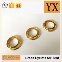 Quality China factory price Oval Brass Eyelets and Grommets High Quality Brass Eyelets for tent for sale