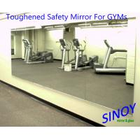 Wholesale GYMs Processed Mirror Glass , decorative wall mirrors Water resistance from china suppliers