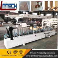 Buy cheap PVC storm door frame profile wrapping machine factory china from wholesalers