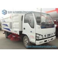 Wholesale Isuzu 4000L 4000KG Dust Clear Road Sweeping Truck 4 X 2 88kw / 120hp from china suppliers