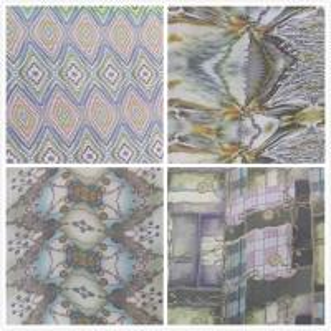 Wholesale 5.5mm Digital Inkjet Printing 100% Silk Crinkle Crepe Fabric For Lady