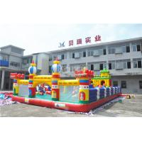 Wholesale Sport Theme Inflatable Bouncy Castle , 0.55 mm PVC Childrens Indoor Play Equipment from china suppliers