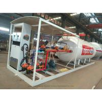 Wholesale Skid Mounted LPG Gas Tank For Mobile LPG Filling Stations With  Digital Scales from china suppliers