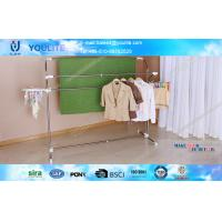 Wholesale Multifunctional Steel Heavy Duty Clothes Drying Rack , Commercial Household Towel Racks from china suppliers