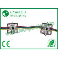 Wholesale 4pcsSMD5050 12v Arduino RGB ws2801 LED Square Pixel Module in metal case from china suppliers