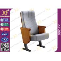 Wholesale Commercial Molded PU Foam Auditorium Chairs With Floor Mounted Fabric Cover from china suppliers