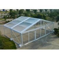 Wholesale Aluminum Structure Material Luxury Clear Top Wedding Tent Waterproof Windproof from china suppliers
