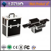 Wholesale LT-MC323 nail storage display case metal case for makeup for nail art from china suppliers