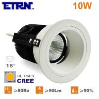 Wholesale ETRN Brand CREE COB LED 2.5 inch 10W LED Downlights Ceiling Lights Recessed light from china suppliers