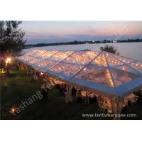 Wholesale Transparent PVC Cover Outdoor Party Marquee With Bright Lighting Decoration from china suppliers