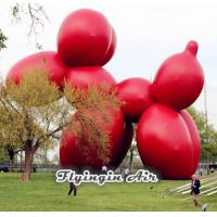 Wholesale Giant Cute Inflatable Red Dog for Square Display and Event Decoration from china suppliers