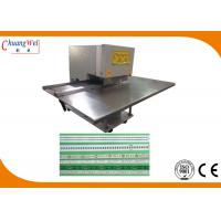 Buy cheap V Grooving PCB Depanelizer  Pre Scoring PCB Cutting Machine V Cut PCB Separator from wholesalers