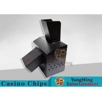 Wholesale Black Automatic Casino Game Accessories For Cutting Off Broken Poker Cards from china suppliers