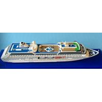 Wholesale Oceania Regatta Cruise Ship Toy Models Artworks Type With Complicated Mosaic from china suppliers