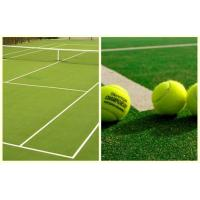 Wholesale Natural Soft Tennis Court Synthetic Grass 5/32 Gauge 11mm Dtex6300 from china suppliers