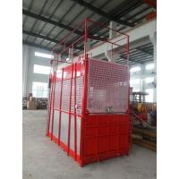 Wholesale Floor / Sliding Door Construction Hoist Elevator Single Or Double Cages from china suppliers
