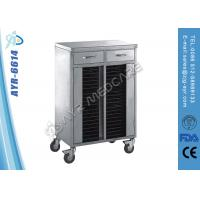 Wholesale Hospital Stainless Steel Medical Trolleys / Patient Case Trolley With Wheels from china suppliers