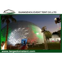 Wholesale White PVC Fabric Outdoor Geodesic Large Dome Tent With Steel Frame from china suppliers