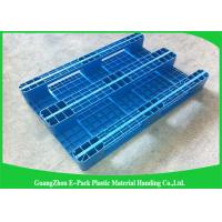 Wholesale Single Faced Plastic Euro Pallets 100% Virgin HDPE Ventilated For Warehouse from china suppliers