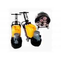 Wholesale 9 Heads Concrete Manual Floor Polisher / Scrubber 220V 50HZ With Planetary System from china suppliers