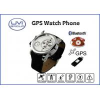 Wholesale PT202E Dual Time Personal GPS Watch Phone / GPS Wrist Watch Tracker with GPS, AGPS, SOS from china suppliers