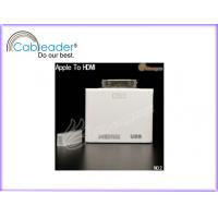 Wholesale HDMI adapter AV video to HD TV convension USB for Apple iPad 2 iPhone iPod Touch from china suppliers