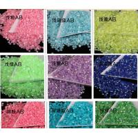Wholesale 14 facet cut neon ab stone resin stone acrylic stone for phone cover decoration from china suppliers