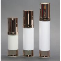 Wholesale Golden airless pump metallic airless bottle 20ml,30ml,40ml, airless serum bottle from china suppliers