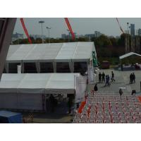 Quality Steel Frame Material Large Outdoor Tent Luxury Double White PVC Rooftop for Wedding for sale