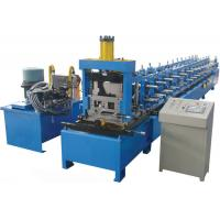 Wholesale High Efficiency CZ Purlin Roll Forming Machine Automatic Hydraulic Shear from china suppliers