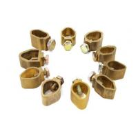 Wholesale Electrical Cable Tray , Brass Electrical Connector Wiring Groud Rod Clamps from china suppliers